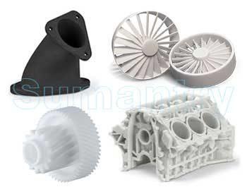 Berkembangnya teknologi additive membuka solusi baru dalam industri polymer parts. Berbeda dengan CNC yang dalam prosesnya mengurangi material hingga didapat geometri yang diinginkan, 3D printing menggunakan additive technology dengan menambah material hingga didapat bentuk yg diinginkan. 3D printing merupakan kebalikan dari Conventional Machining.