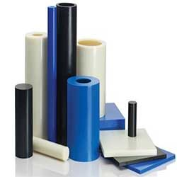 Polyethylene (PE), Polyamides (PA / Nylon), Polyoxymethylene (POM), Polypropylene (PP), Polycarbonates (PC), Polyurethane (PU), Polytetrafluoroethylene (PTFE / Teflon)